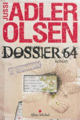 Dossier 64,Jussi Adler-Olsen