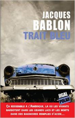 trait bleu,jacques bablon,